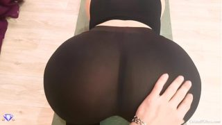 Big Booty with Leggings, POV Blowjob and Sex – Cristall Gloss