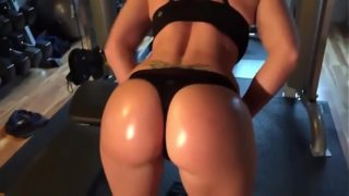 Nice Ass Blonde Fucked After Workout