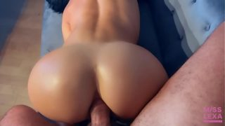 Tight Fit Girl Fucked In Ass After Workout